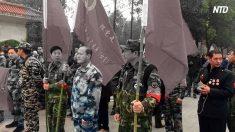【動画ニュース】湖北省で退役軍人らが抗議生活苦を訴える