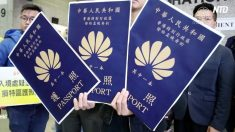 【動画ニュース】孟晚舟氏香港旅券3通保有香港民主派議員らが抗議