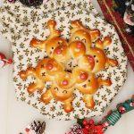 【レシピ動画】キュートなリース型トナカイちぎりパン お腹いっぱいのクリスマス