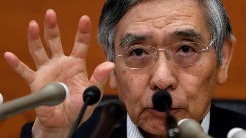 景気、先行き拡大続ける 金融システムは安定維持=黒田日銀総裁