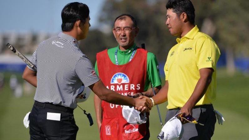 ゴルフ=米男子ツアーで松山が単独2位に浮上、首位ローズ