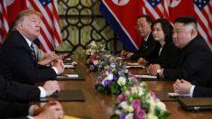 米朝首脳会談、合意に至らず トランプ氏「北朝鮮が制裁解除要求」