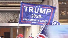 【動画ニュース】トランプ支持者らがマンハッタンのトランプ・タワー前で支持集会