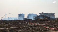 【動画ニュース】江蘇省爆発事故 現場情報伝えた環境保護活動家が一時拘束
