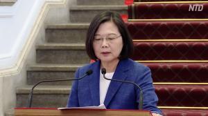 【動画ニュース】蔡英文総統「一国二制度は実施できない」台湾民主政治の堅持を訴え