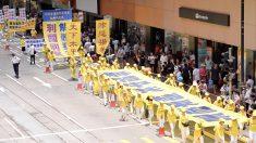 【動画ニュース】香港で反迫害パレードと民主派のデモ行進同時進行