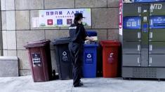 【動画ニュース】上海でゴミ分別回収開始 トラブル続出