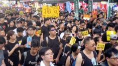 【動画ニュース】返還22周年 香港で恒例の抗議デモ