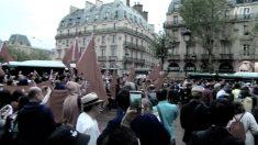 【動画ニュース】パリでも香港支持集会 親中共派が妨害