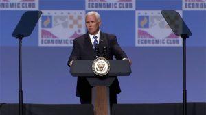 【動画ニュース】ペンス副大統領「米国経済は好調だ」