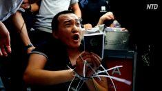 【動画ニュース】中国環球時報記者の不審な挙動 意図的な挑発行為?