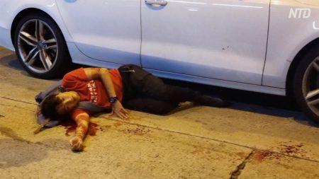 【動画ニュース】香港の大規模デモ主催者が襲撃され重傷