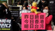 【動画ニュース】韓国の大学生団体 ソウルで香港支持デモ