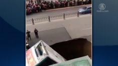 【動画ニュース】中国でまたもや道路陥没 一か月半で5回「ほとんどが人災」