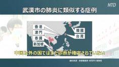 【動画ニュース】台湾が武漢に専門家を派遣 新型コロナウィルスの調査