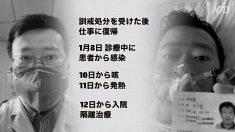 新型肺炎を最初に警告した李文亮医師死去 「情報封鎖でウイルスがさらに拡散」