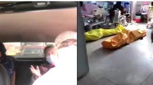 武漢の退院患者が証言「生きたまま〇〇袋に入れられる」