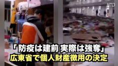 「 防疫は建前 実際は強奪」広東省で個人財産徴用の決定