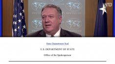 ポンペオ米国務長官 イランの米国に対する誹謗中傷を非難