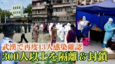 武漢で再度感染確認 市内全体で核酸検査実施?