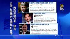 トランプ政府外交チームが台湾のWHA参加支持を連投