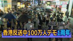香港反送中100万人デモ1周年記念 警察は53人を逮捕