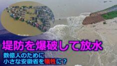 安徽省で堤防を爆破して水を開放 依然として続く三峡ダムの放水【禁聞】