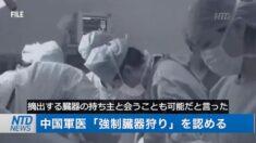 中国軍医 強制臓器狩りを認める【チャイナ・イン・フォーカス】