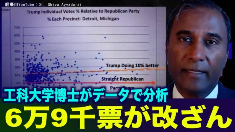 マサチューセッツ工科大学研究者が選挙データを分析「トランプ大統領への6万9000票が改ざんされた」
