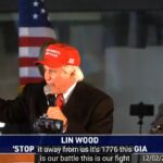 リン・ウッド弁護士らがジョージア州で集会「偽情報を伝えるメディアを見ないで」