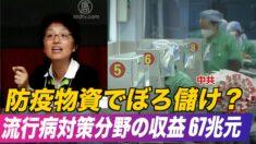 中国 今年の流行病対策分野の収益は67兆元 GDPの3分の2