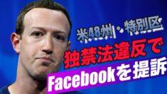米48州・特別区がFacebookを独禁法違反で提訴