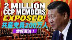 中国共産党員200万人の情報漏洩【チャイナ・アンセンサード】Massive Leak Shows Chinese Communist Party's Foreign Reach