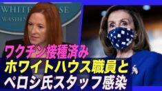 ホワイトハウス職員とペロシ議長のスタッフが感染