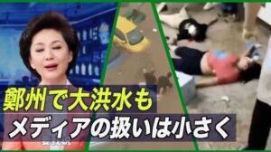 鄭州で大洪水も中共メディアの扱いは小さく【禁聞】